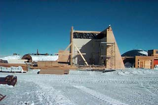 the BIF under construction in 1996-97